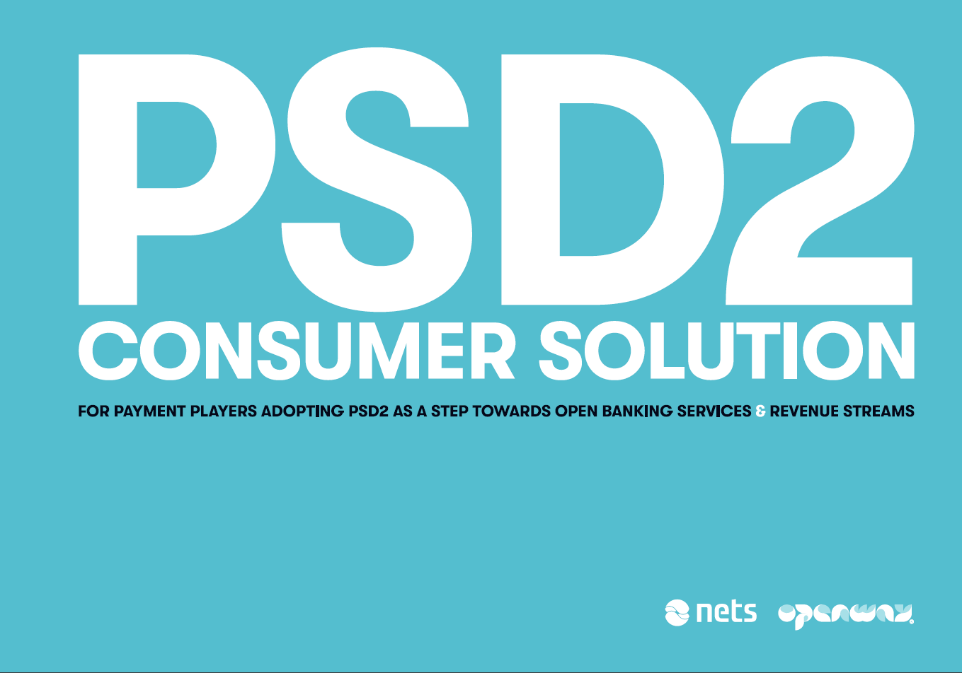 Nets and OpenWay Collaborate on Monetization of PSD2 and Open Banking - Il Salone dei Pagamenti