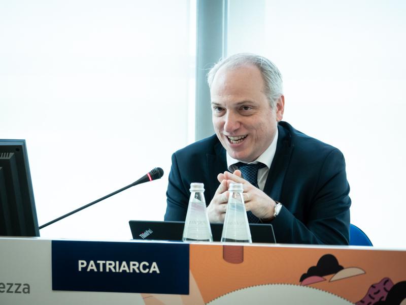 FABRIZIO PATRIARCA  - Banche e Sicurezza
