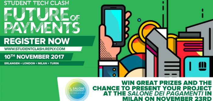 Reply Student Tech Clash, una gara sui pagamenti - Il Salone dei Pagamenti